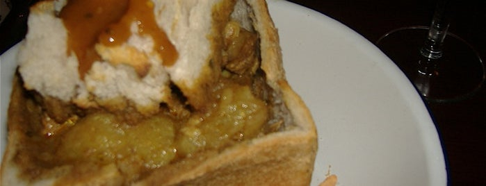 Bunny Chow is one of New Experiences.