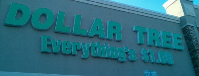 Dollar Tree is one of places.