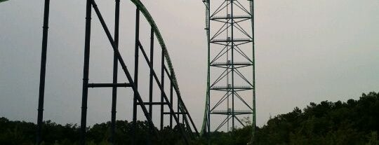 Six Flags Great Adventure is one of Must Ride Roller Coasters.