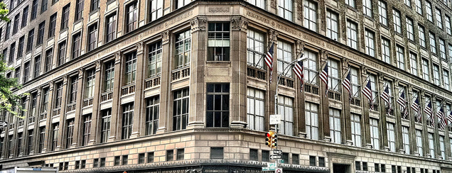 Saks Fifth Avenue is one of 2012 - New York.