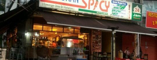 Restoran Spicy Kitchen is one of Must-visit Indian Restaurants in Kuala Lumpur.