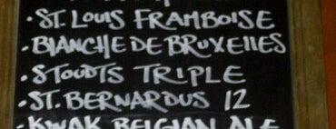 Eulogy Belgian Tavern is one of Draft Mag's Top 100 Beer Bars (2012).