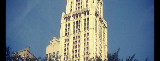 Woolworth Building is one of NYC Stay-cation.