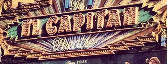 El Capitan Theatre is one of LA: Central, East, Valleys.