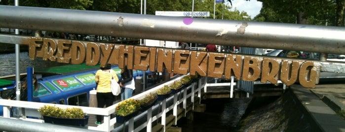 Freddy Heinekenbrug (Brug 84) is one of Bridges in the Netherlands.