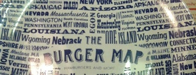 The Burger Map is one of Restaurantes.