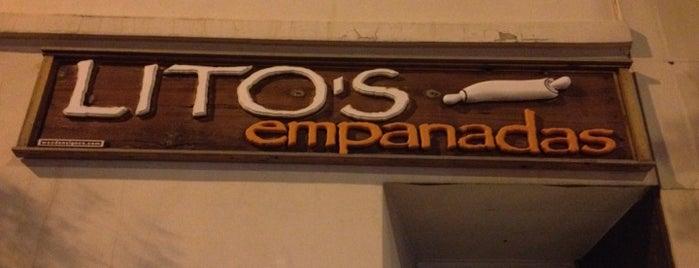 Lito's Empanadas is one of To-do eat.