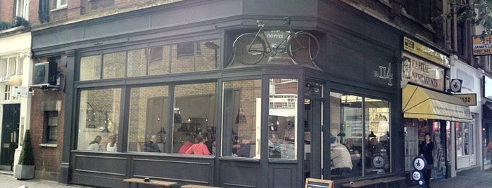 TAP Coffee No. 114 is one of London Coffee Crawl.