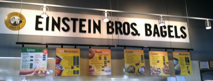 Einstein Bros Bagels is one of Things to do on St. Patrick's Day.