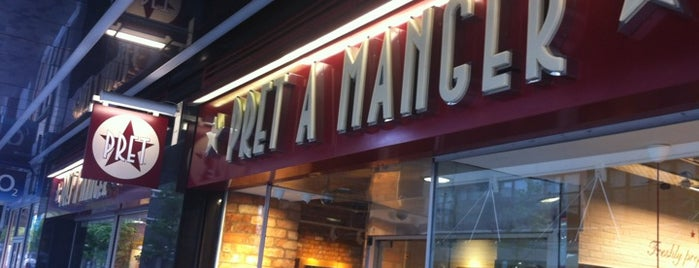 Pret A Manger is one of Glasgow I was there.