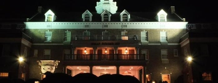 Molly Pitcher Inn is one of Historic Hotels to Visit.