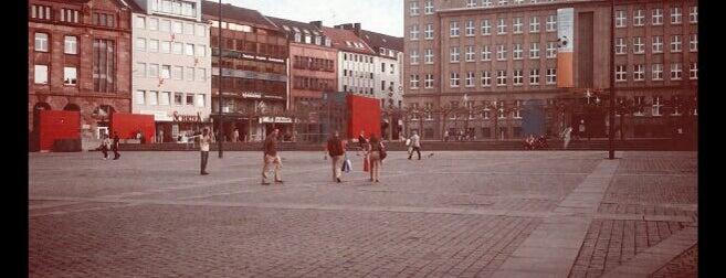 Hansaplatz is one of Dortmund - must visits.