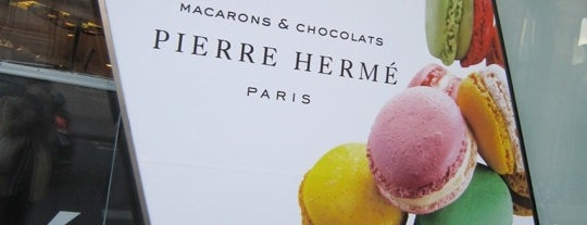 Pierre Hermé is one of  Paris Eat .