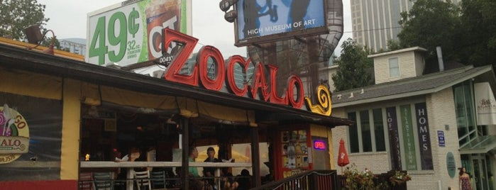 Zocalo Mexican Kitchen & Cantina is one of Atlanta.