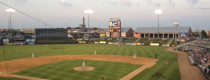 CommunityAmerica Ballpark is one of KC Stadiums and Sports Fields.