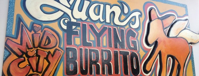 Juan's Flying Burrito is one of The 15 Best Places for Burritos in New Orleans.