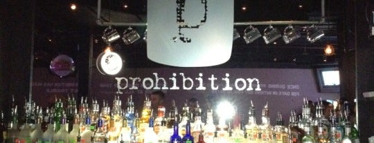 Prohibition is one of Clt drank.