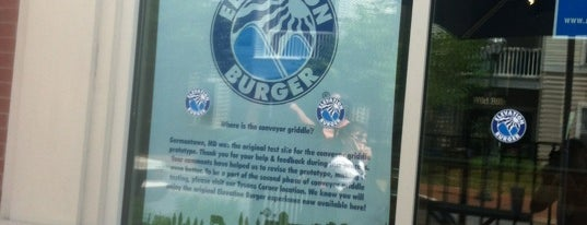 Elevation Burger is one of Place to go before I leave DC!.