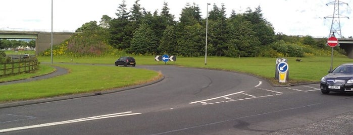 Cadgers Brae Roundabout is one of Named Roundabouts in Central Scotland.