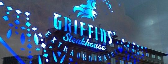 Griffins' Steakhouse is one of Helsinki & around.