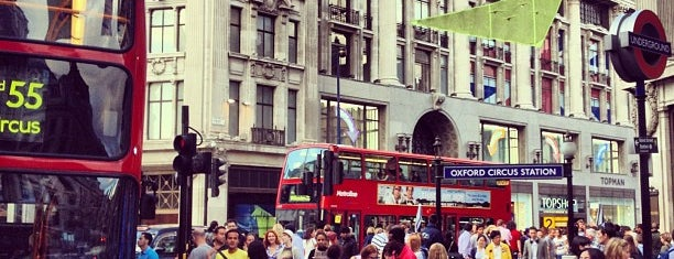 Oxford Circus is one of Around The World: London.