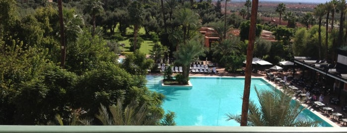 La Mamounia is one of Hotels.