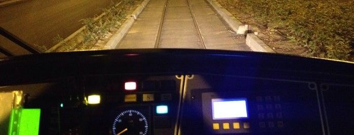 Cumhuriyet Tramvay Durağı is one of Eskişehir Batıkent - SSK Tramvay Hattı.