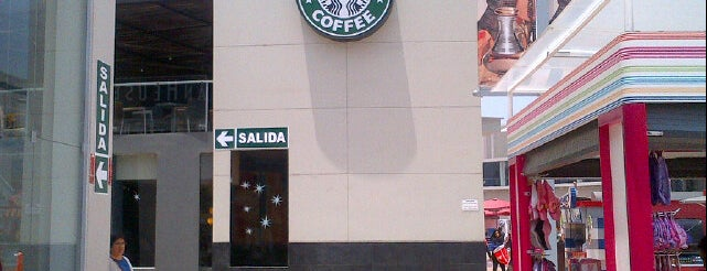 Starbucks Coffee is one of lugares donde voy :-).