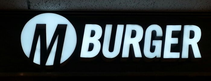 M Burger is one of Chicagoist's Top Burger List.