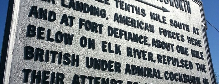 Elk Landing is one of Star-Spangled Sites.