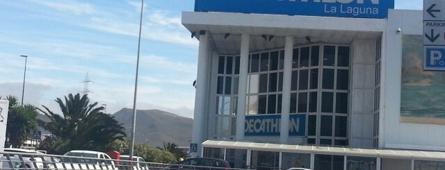 Decathlon is one of Tenerife.