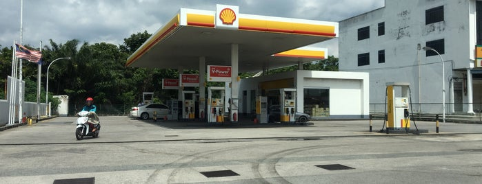 Shell @ Jalan Sungai Abong,Muar is one of Fuel/Gas Station,MY #11.