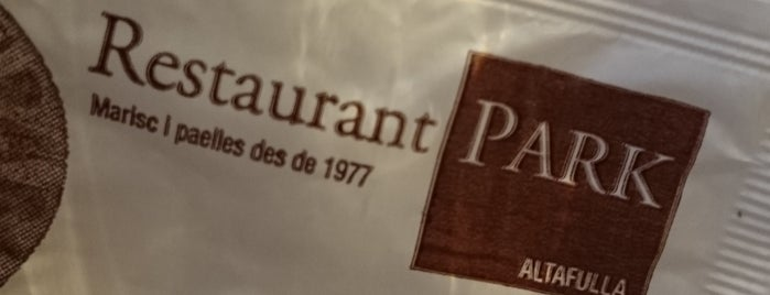 Restaurant Park is one of Restaurants habituals i recomenats.