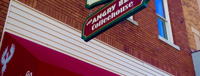 The Angry Bean Coffeehouse is one of Our Partners.