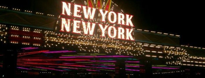 New York-New York Hotel & Casino is one of Las Vegas extended.