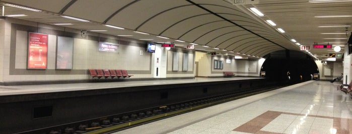 Aghios Ioannis Metro Station is one of Bill.