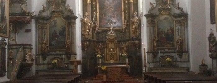 Farní kostel sv. Václava is one of churches.