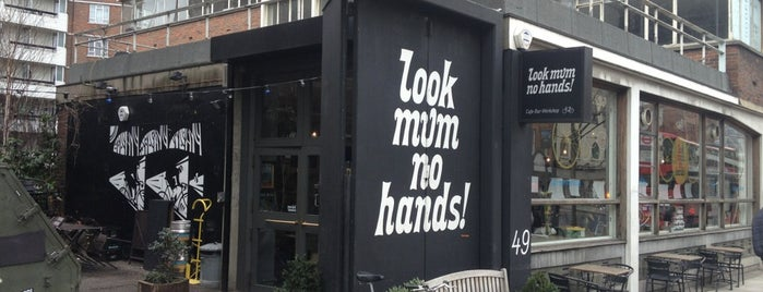 look mum no hands! is one of Coffee Shops in London to work from.