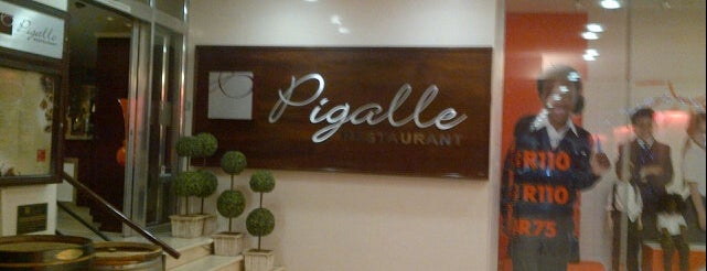 Pigalle is one of Perfect 10 Sunninghill.