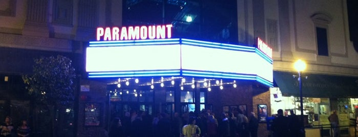 The Paramount is one of To the East of Queens.