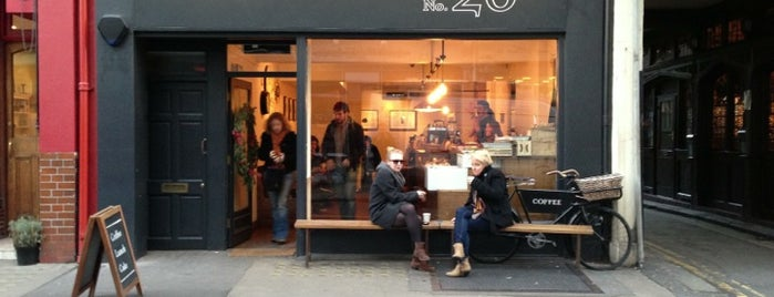 TAP Coffee No. 26 is one of London's Best Coffee - 2013.