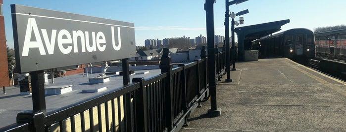 MTA Subway - Avenue U (F) is one of MTA Subway - F Line.