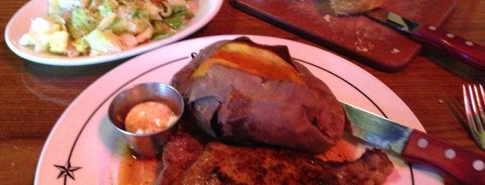 Saltgrass Steak House is one of Pili Pop list.