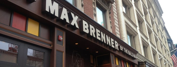 Max Brenner is one of Boston.