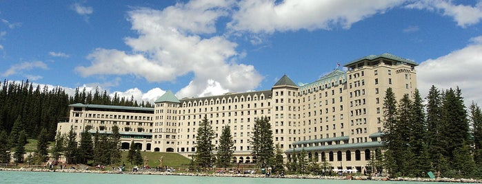The Fairmont Chateau Lake Louise is one of Bucket List Places.