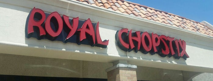 Royal Chopstix is one of Restaurant.