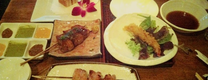Robata JINYA is one of Restaurants.