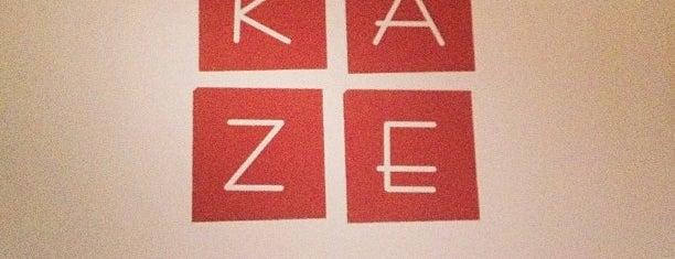 Kaze is one of Cincinnati.