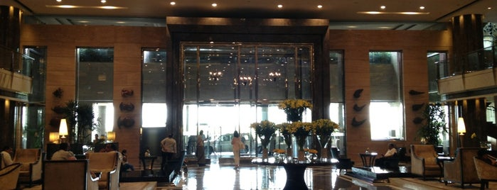 The Leela Ambience is one of Airports & Hotels.