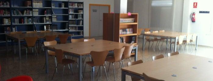 Biblioteca Miguel Hernández is one of lugares que frecuento.